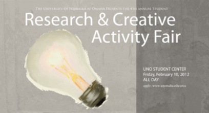 2012 Student Research and Creative Activity Fair