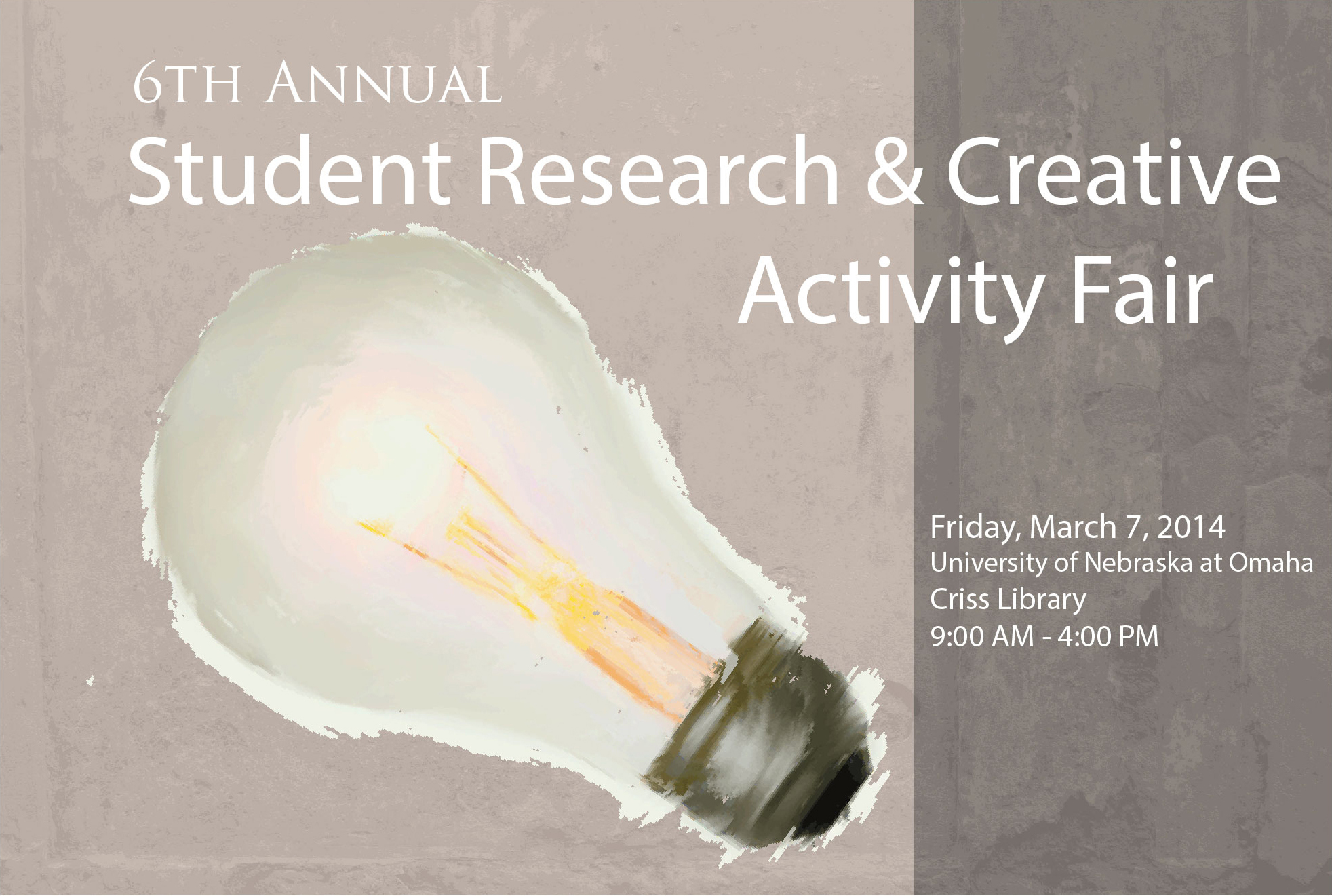 2014 Student Research and Creative Activity Fair