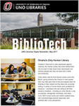 BiblioTech, May 2017 by UNO Libraries