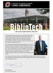 BiblioTech, March 2018 by UNO Libraries