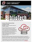 BiblioTech, May 2018