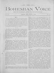 The Bohemian Voice, Vol.2, No.10