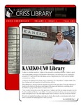 Criss Chronicles, Volume 3, Issue 1 by Criss Library