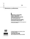 Informes nacionales sobre migración internacional en países de Centroamérica: Taller de capacitación para el análisis de información censal sobre migración internacional en América Central by Cristián Doña-Reveco