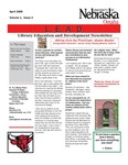 Library Education and Development Newsletter, Volume 1, Issue 3 by UNO Library Science Education