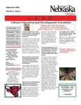 Library Education and Development Newsletter, Volume 2, Issue 1 by UNO Library Science Education