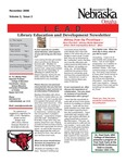 Library Education and Development Newsletter, Volume 2, Issue 2 by UNO Library Science Education