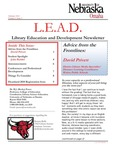Library Education and Development Newsletter, Volume 3, Issue 3 by UNO Library Science Education