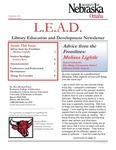 Library Education and Development Newsletter, Volume 4, Issue 1 by UNO Library Science Education
