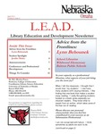 Library Education and Development Newsletter, Volume 4, Issue 4 by UNO Library Science Education