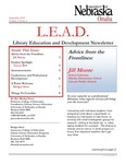 Library Education and Development Newsletter, Volume 5, Issue 1 by UNO Library Science Education
