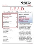 Library Education and Development Newsletter, Volume 5, Issue 3 by UNO Library Science Education