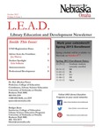 Library Education and Development Newsletter, Volume 6, Issue 1 by UNO Library Science Education