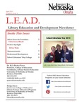 Library Education and Development Newsletter, Volume 6, Issue 4 by UNO Library Science Education