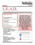 Library Education and Development Newsletter, Volume 8, Issue 2 by UNO Library Science Education