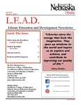 Library Education and Development Newsletter, Volume 7, Issue 4 by UNO Library Science Education