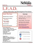 Library Education and Development Newsletter, Volume 7, Issue 2