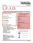 Library Education and Development Newsletter, Volume 7, Issue 3