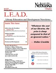 Library Education and Development Newsletter, Volume 8, Issue 4