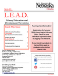 Library Education and Development Newsletter, Volume 9, Issue 3