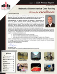 Nebraska Biomechanics Core Facilty 2008 Annual Report, Issue 7