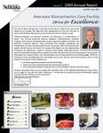 Nebraska Biomechanics Core Facilty 2009 Annual Report, Issue 8