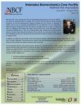 Nebraska Biomechanics Core Facilty 2011-2012 Annual Report, Issue 10