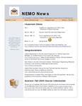 NEMO News, Volume 1, Issue 1