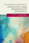 The Cambridge Handbook of Creativity and Personality Research by Gregory J. Feist, Roni Reiter-Palmon, and James C. Kaufman