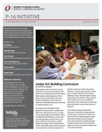 SLA P-16 Initiative, Volume 3, Issue 2, Spring 2013