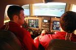 Flight Simlulator at UNO's Aviation Institute